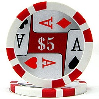 Quality 4 Aces Poker Chips