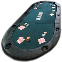 Texas Holdem Poker Table Top