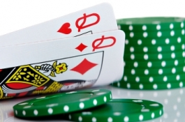 Pocket Queens in Texas Hold'em